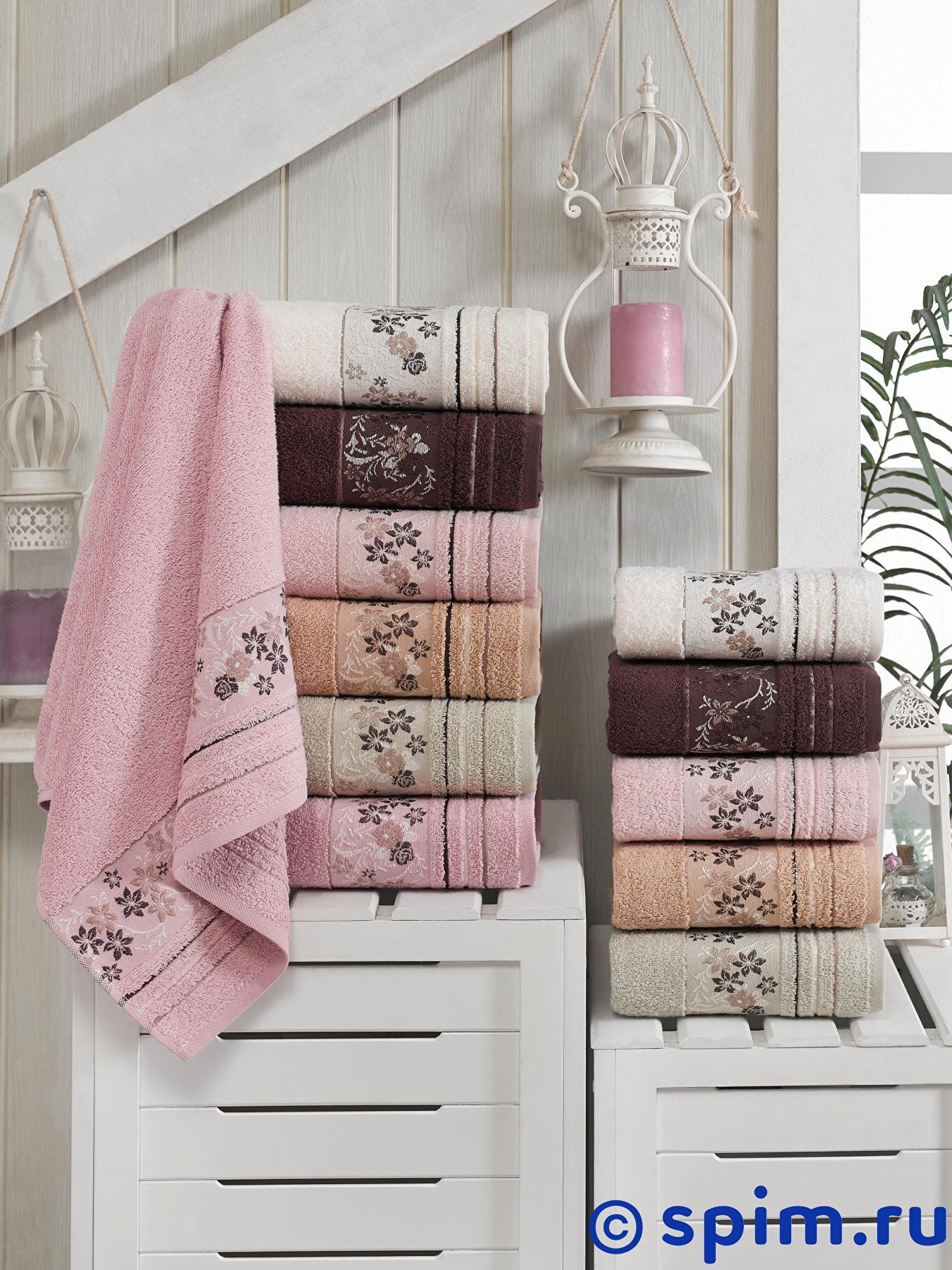 Набор из 6-ти полотенец Do&co Sonbahar Soft 50х90 см сирень classik б 50х90 70х130 в коробке набор полотенец фиеста