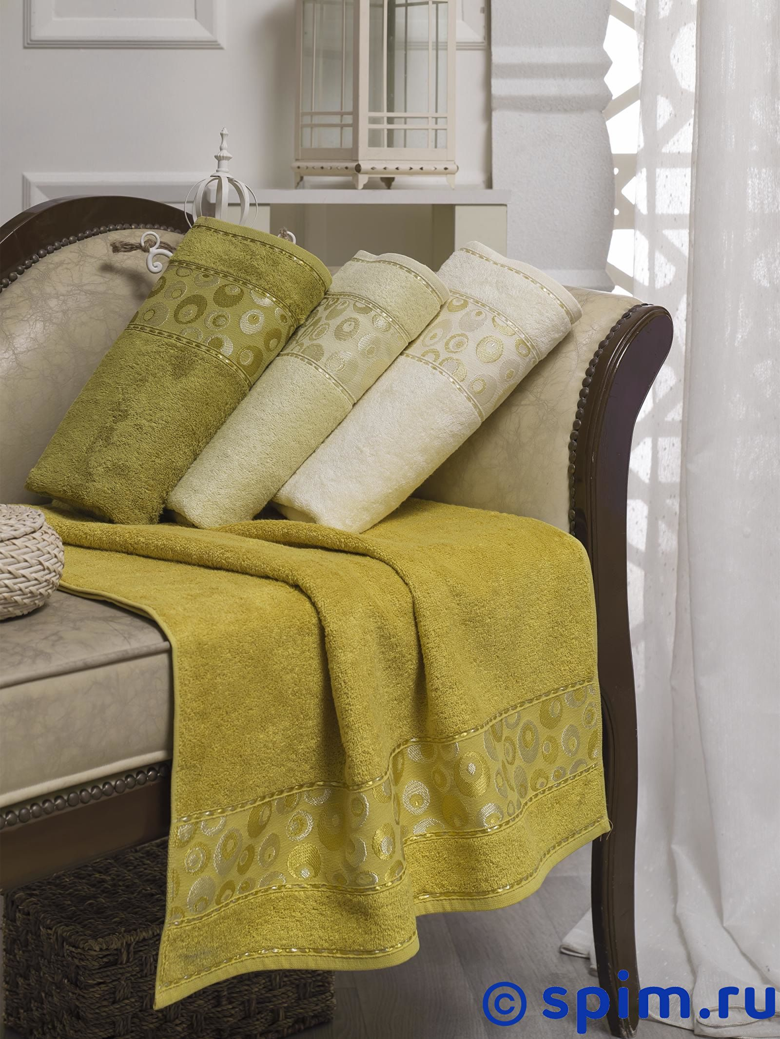 Набор из 4-х полотенец Do&co Elmira 70х140 см полотенца do n co полотенце lady цвет мятный набор