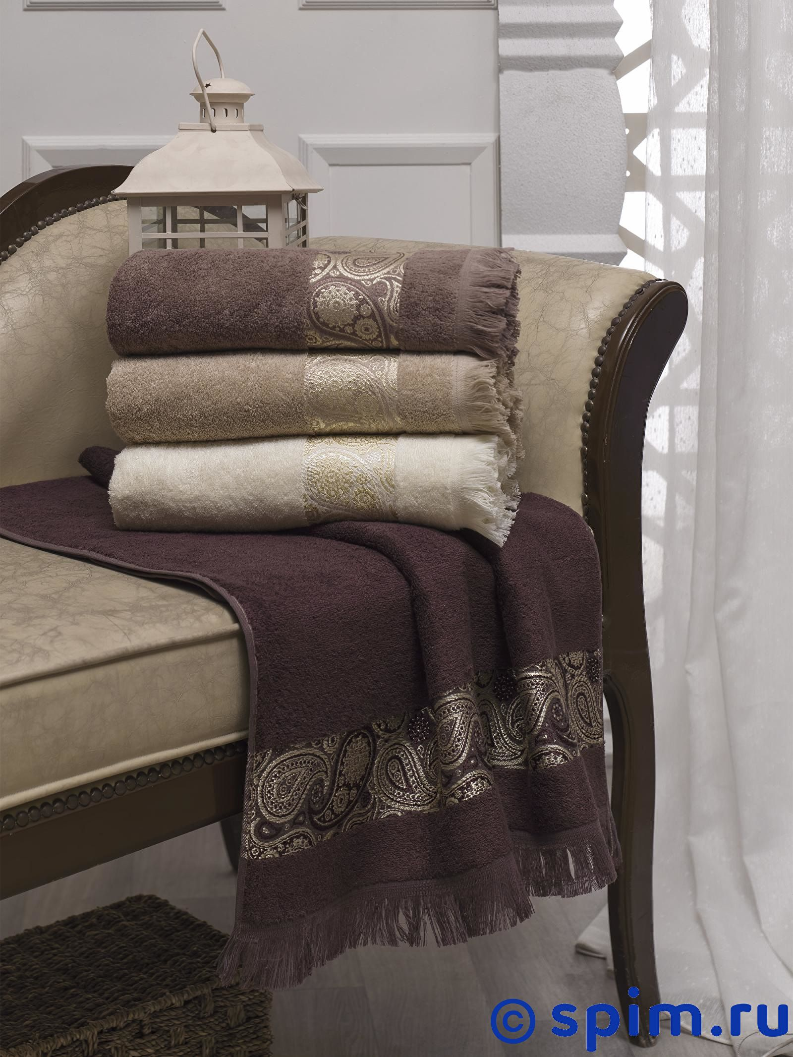 Набор из 4-х полотенец Do&co Etron 70х140 см полотенца do n co полотенце lady цвет мятный набор
