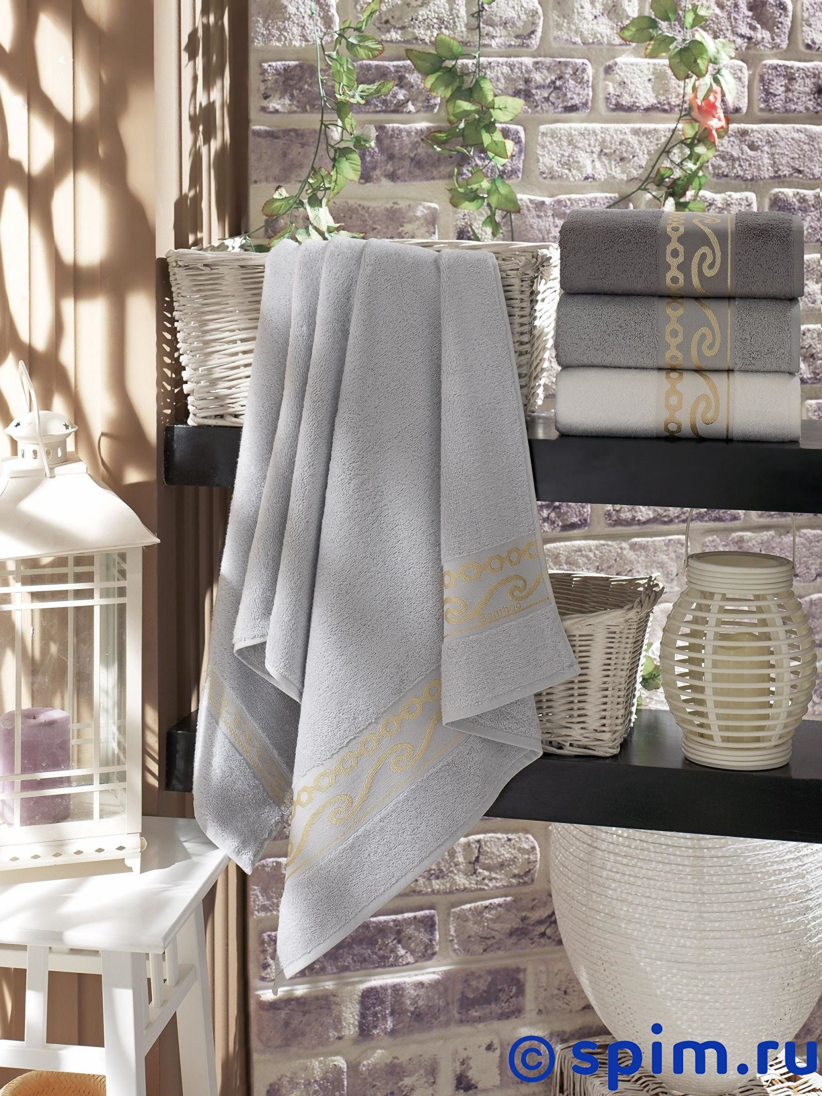 Набор из 4-х полотенец Do&co Freesia 50х90 см полотенца do n co полотенце lady цвет мятный набор