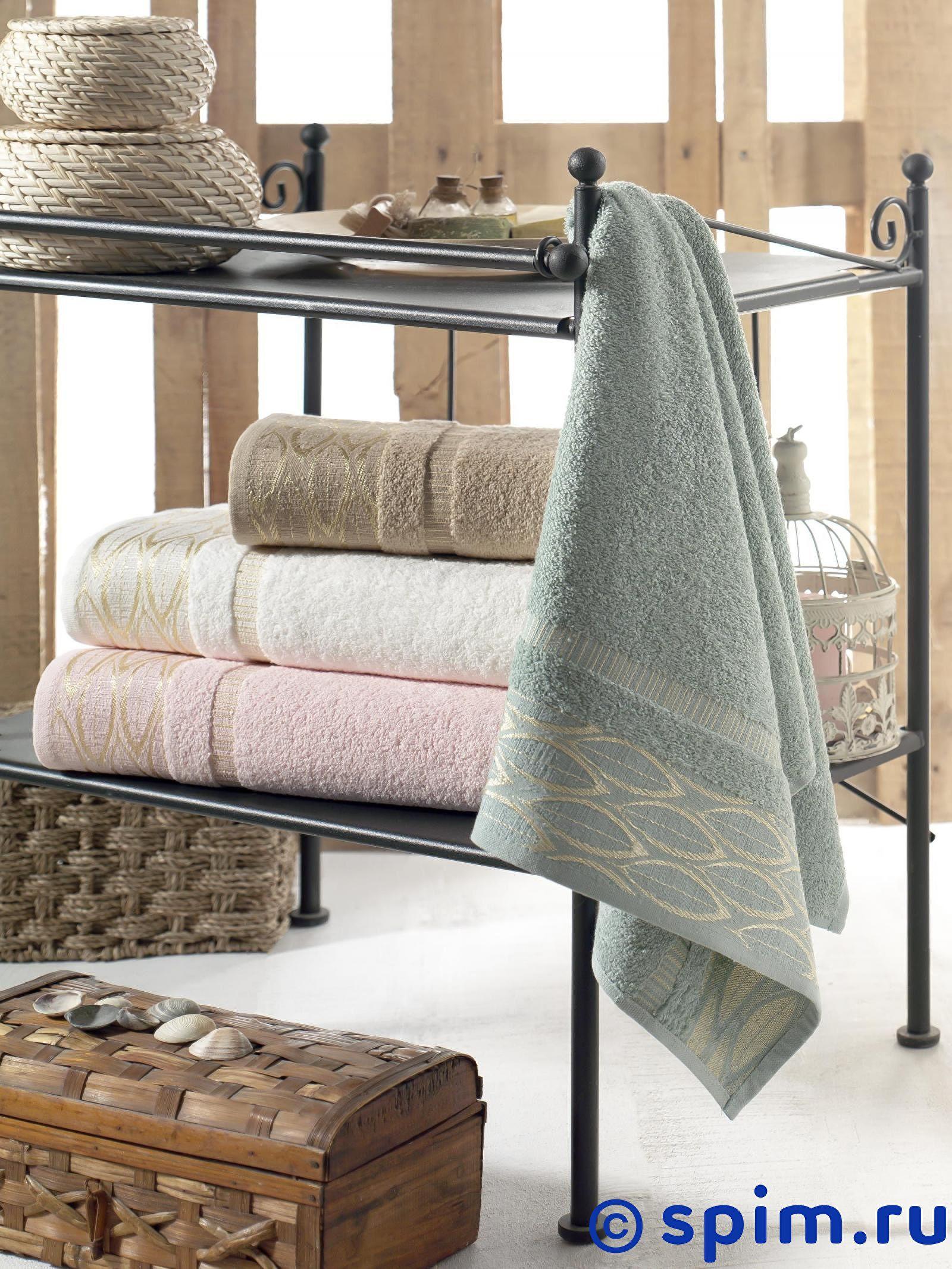 Набор из 4-х полотенец Do&co Leaves 50х90 см полотенца do n co полотенце lady цвет мятный набор