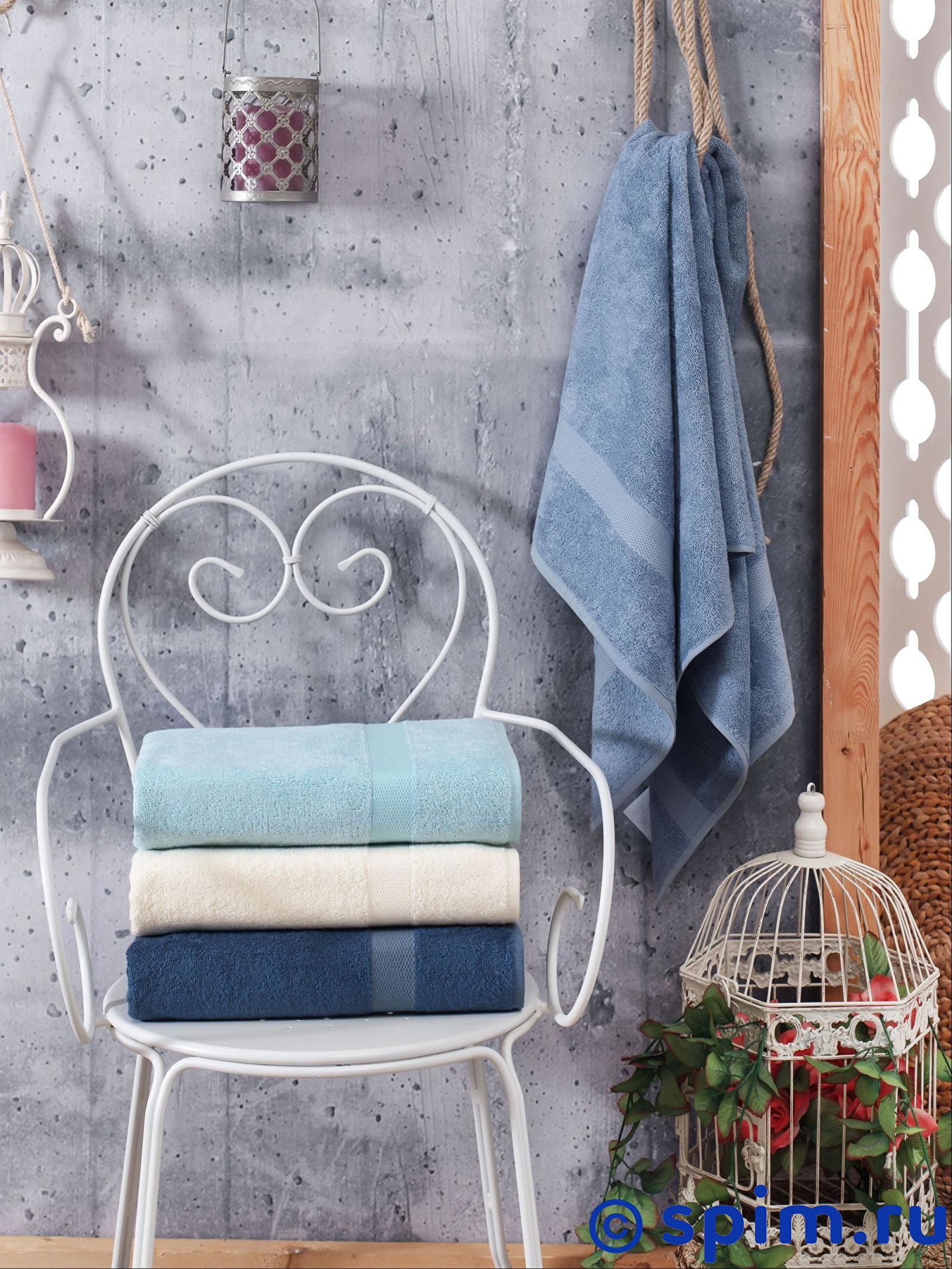 Набор из 4-х полотенец Do&co Olivi 70х140 см полотенца do n co полотенце lady цвет мятный набор