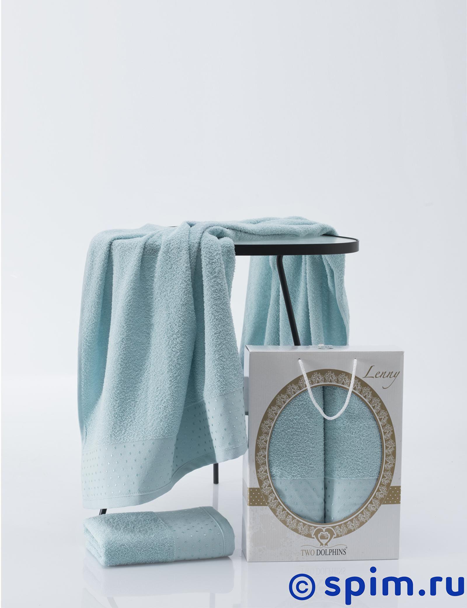 Комплект из 2-х полотенец Two Dolphins Lenny комбинация из сатина lenny
