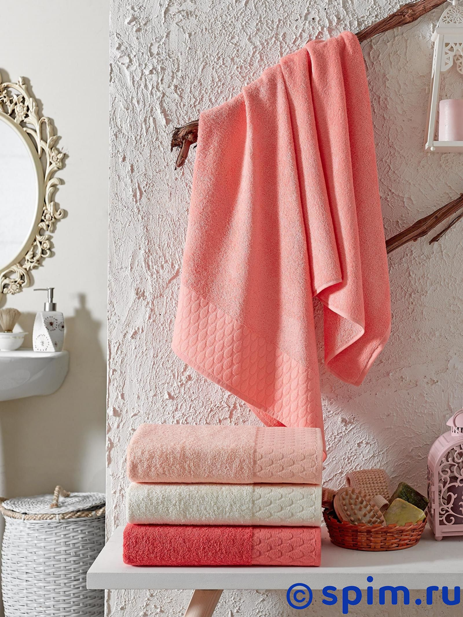 Набор из 4-х полотенец Do&co Cristie 70х140 см полотенца do n co полотенце lady цвет мятный набор