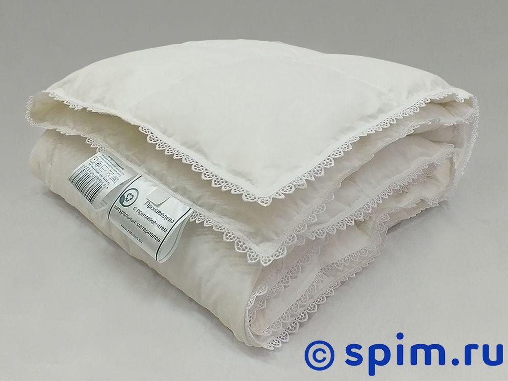 Одеяло Natures Пуховое облако с кружевом 100х150 см бампер 2190 гранта пер белое облако