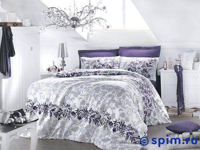 Постельное белье Issimo Violetta Семейное постельное белье issimo home комплект постельного белья rosy сатин 200тс 100