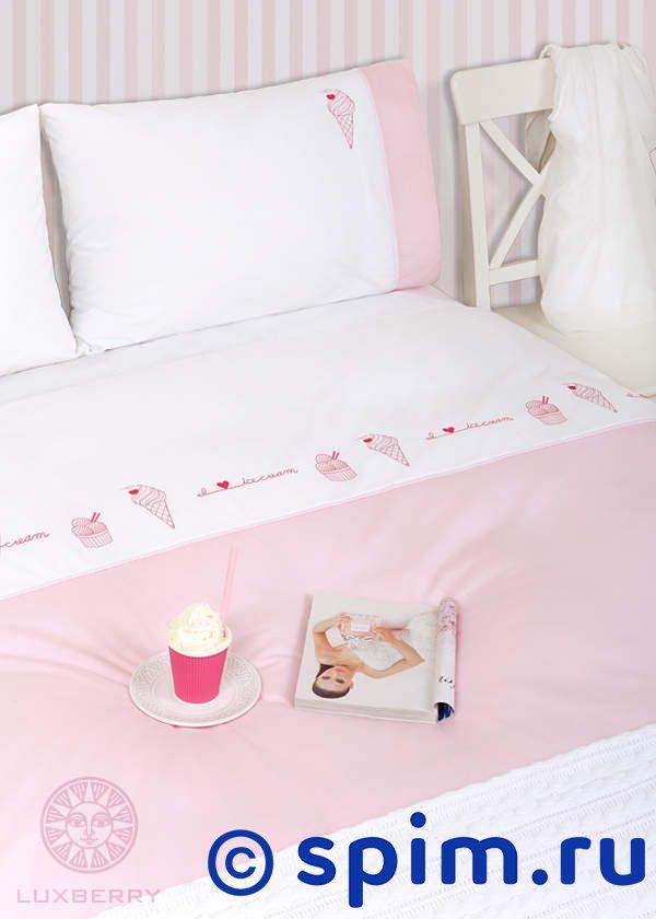 Детский комплект Luxberry Icecream, простыня на резинке