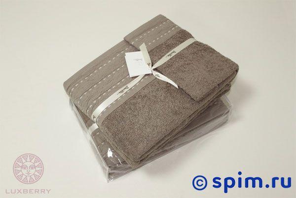 где купить Набор полотенец Luxberry Palma стежок махра, табачный по лучшей цене