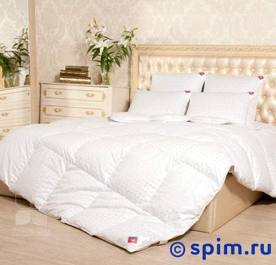 Одеяло пуховое Легкие сны Афродита, теплое 140х205 см