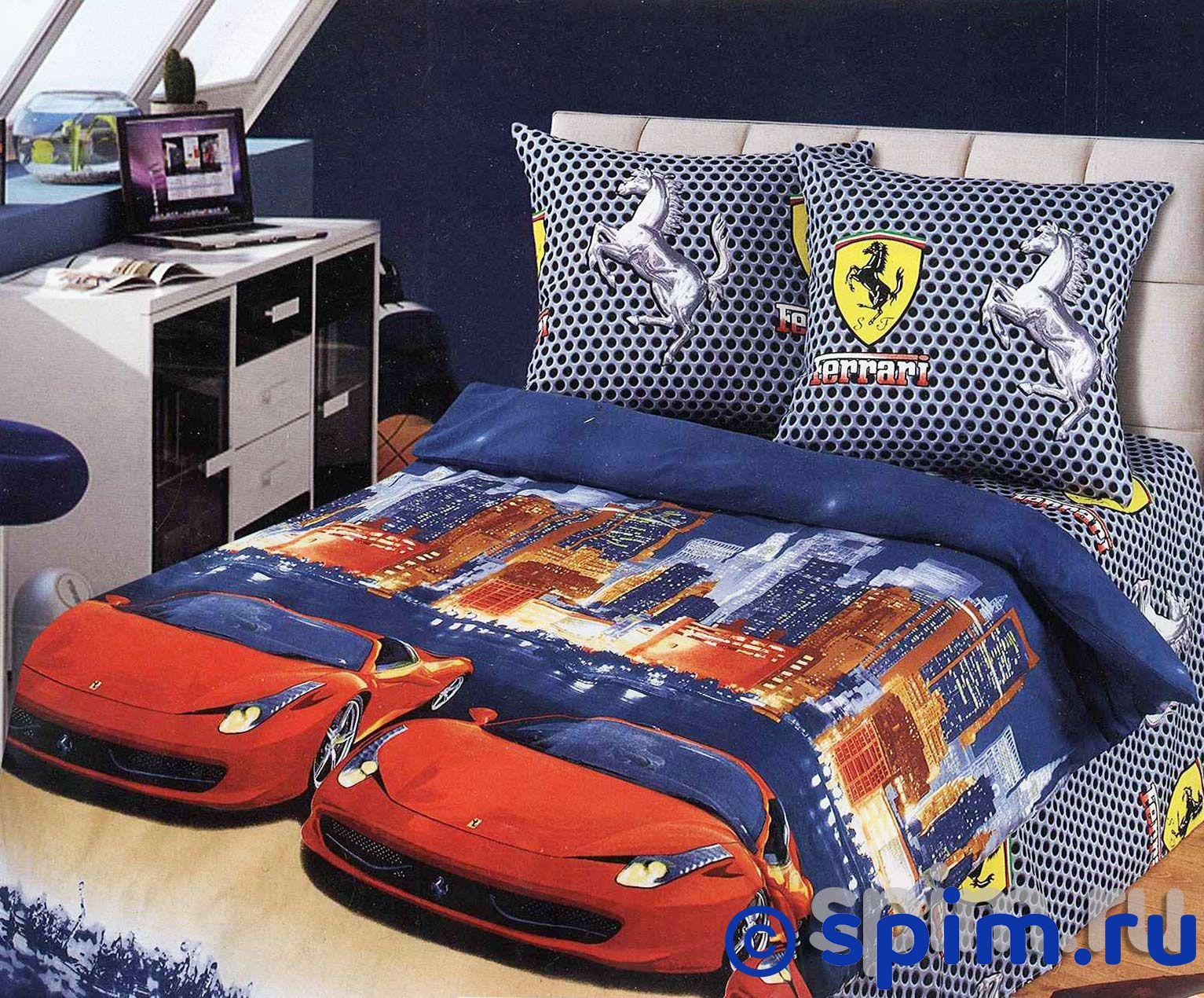 Постельное белье Лидер Ferrari АртПостель конструкторы bauer серии стройка 35 деталей