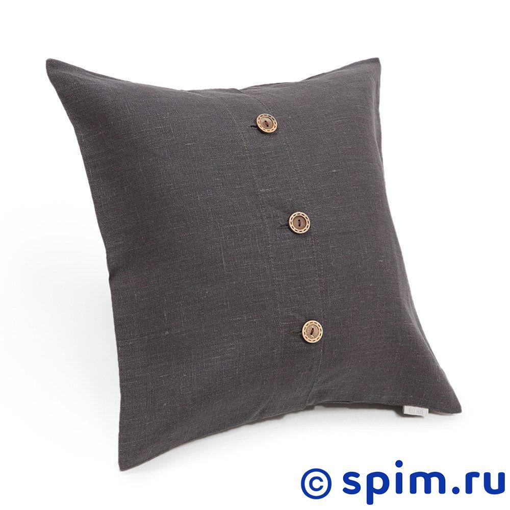 Декоративная подушка Helgi Home Бейсик, серый
