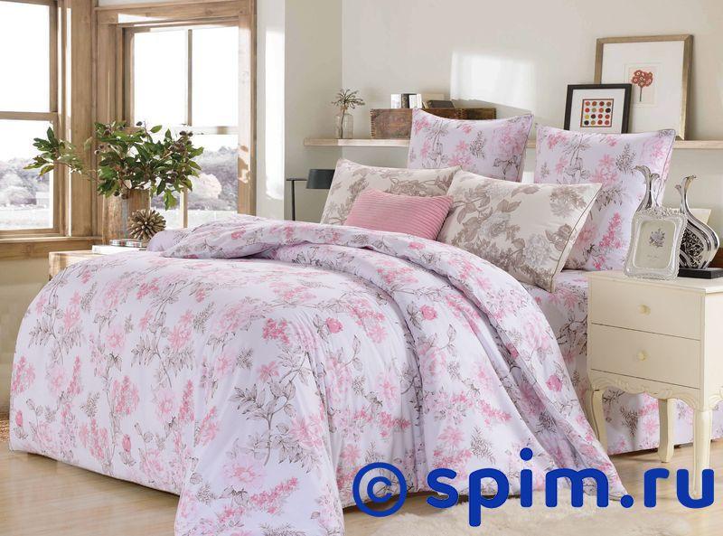 Комплект Kazanov.a. Роза Лилиан, белый/розовый 1.5 спальное