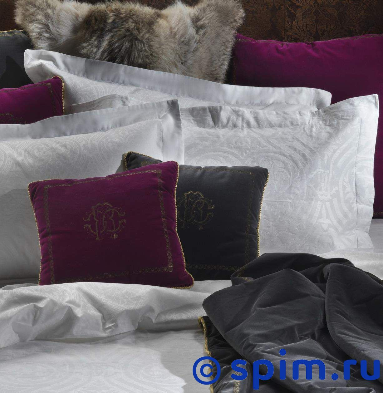 Постельное белье Roberto Cavalli Damasco roberto verino vv tropic