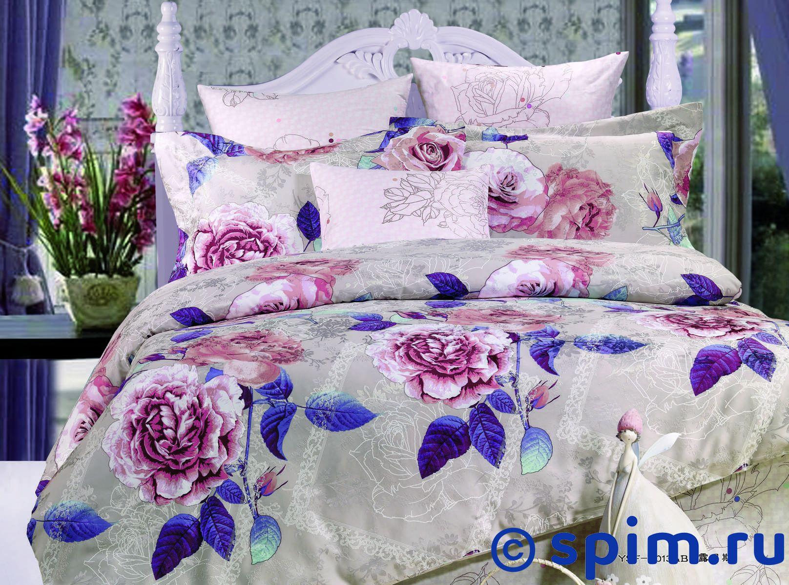Постельное белье СайлиД Т27 Евро-стандарт постельное белье мартекс кпб печать атлас гречанка евро