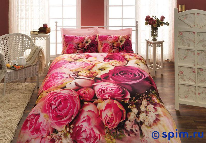 Комплект 3D Bouquet 1.5 спальное