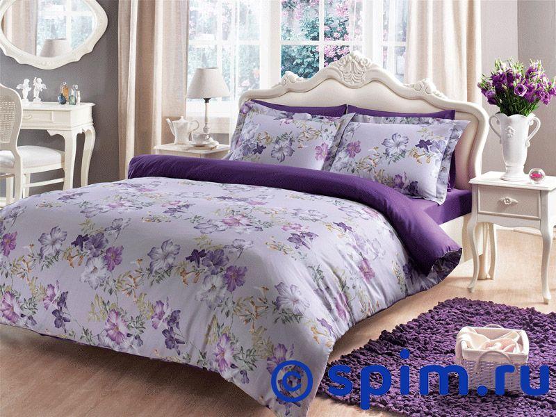 Постельное белье Tivolyo Delux Viola 1.5 спальное