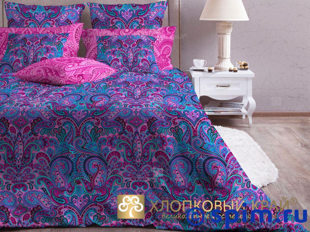 Постельное белье Хлопковый край Олимпос, фуксия 1.5 спальное