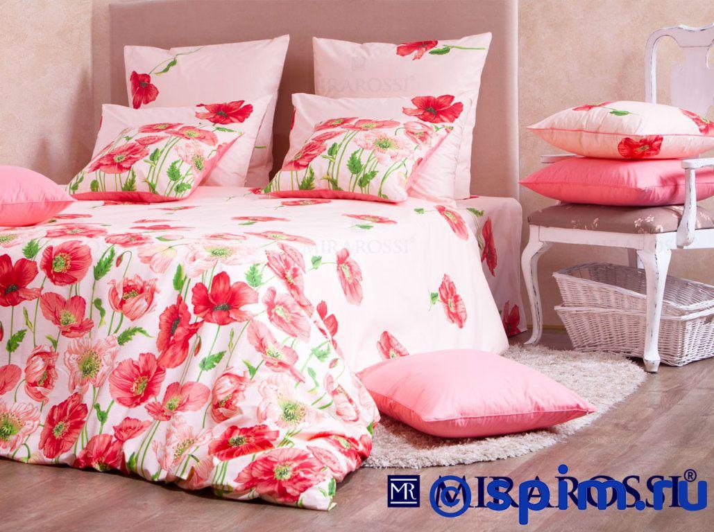 Постельное белье Mirarossi Carolina pink Евро-стандарт
