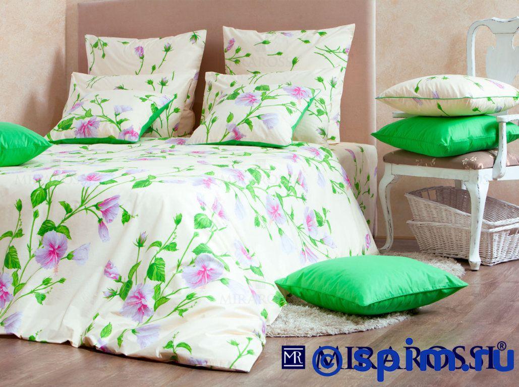 Постельное белье Mirarossi Francesca white Семейное постельное белье mirarossi sofia семейное