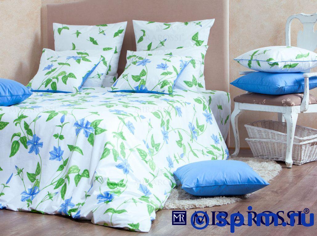 Постельное белье Mirarossi Veronica blue 1.5 спальное