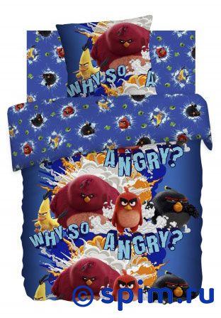 Постельное белье Angry Birds, Злые птички непоседа постельное белье ёжики 3 пред бязь непоседа