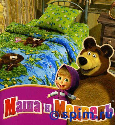 Комплект Маша и медведь, На рыбалке