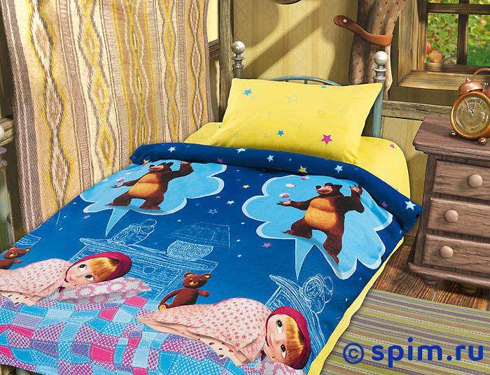 Постельное белье в детскую кроватку Машин сон Непоседа непоседа постельное белье ёжики 3 пред бязь непоседа