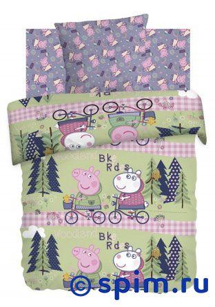 Постельное белье Велопрогулка непоседа постельное белье ёжики 3 пред бязь непоседа