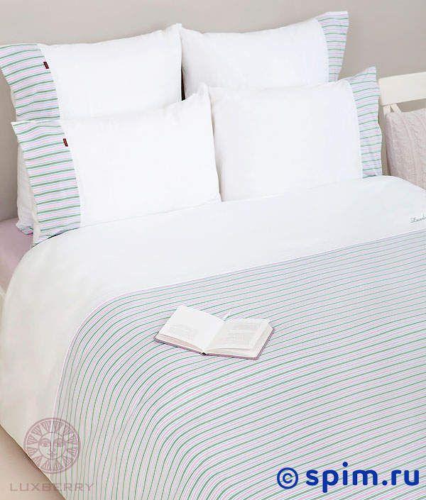 Трикотажное белье Luxberry белый/зеленый/лавандовый/голубой 1.5 спальное детский комплект luxberry sweet life простыня без резинки