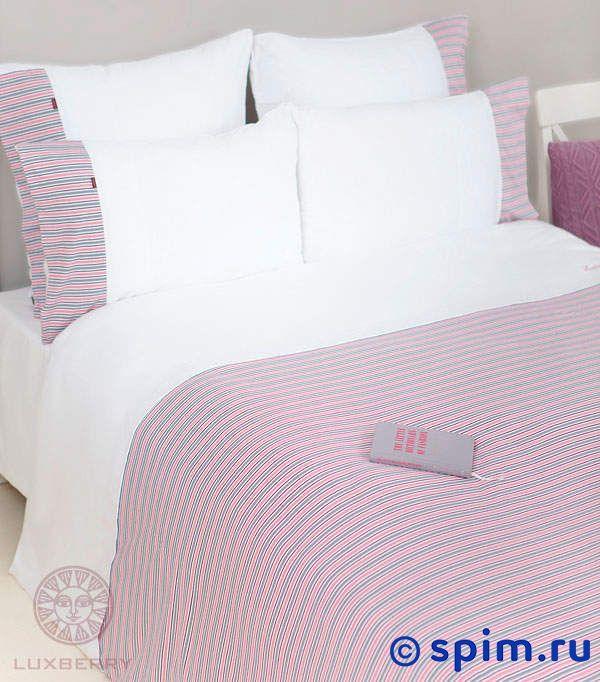 Трикотажное белье Luxberry белый/серый/розовый/винный 1.5 спальное детский комплект luxberry sweet life простыня без резинки