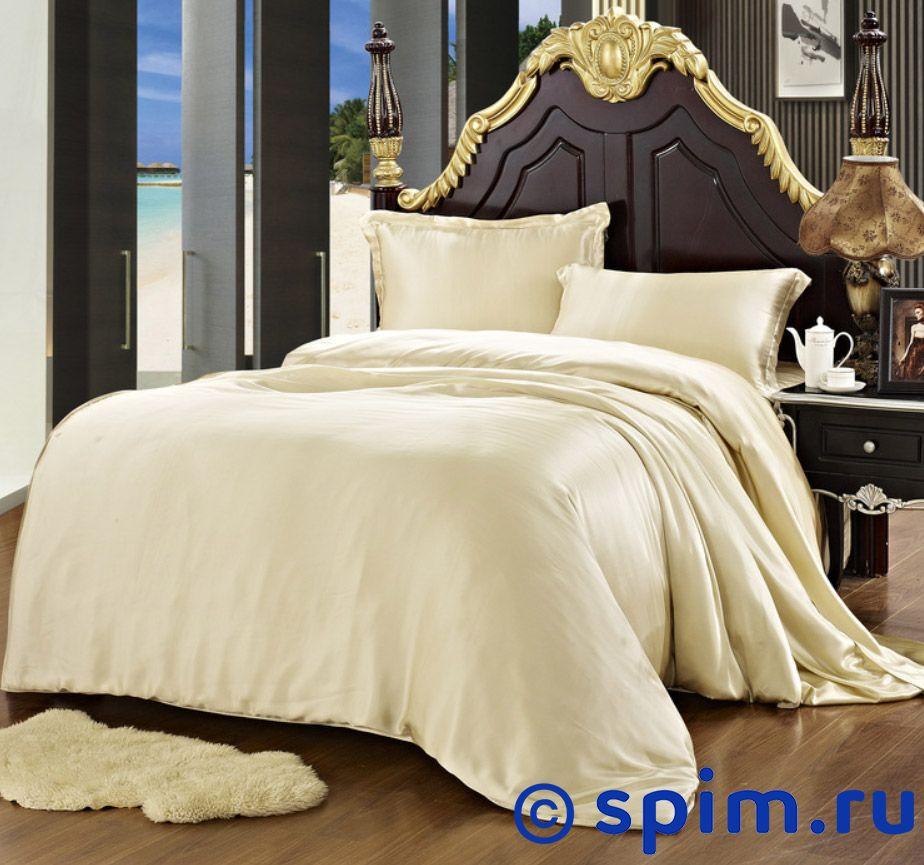 Постельное белье Luxe Dream Бежевый Евро-макси