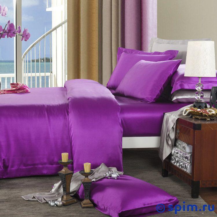Постельное белье Luxe Dream Фиолетовый Двуспальное