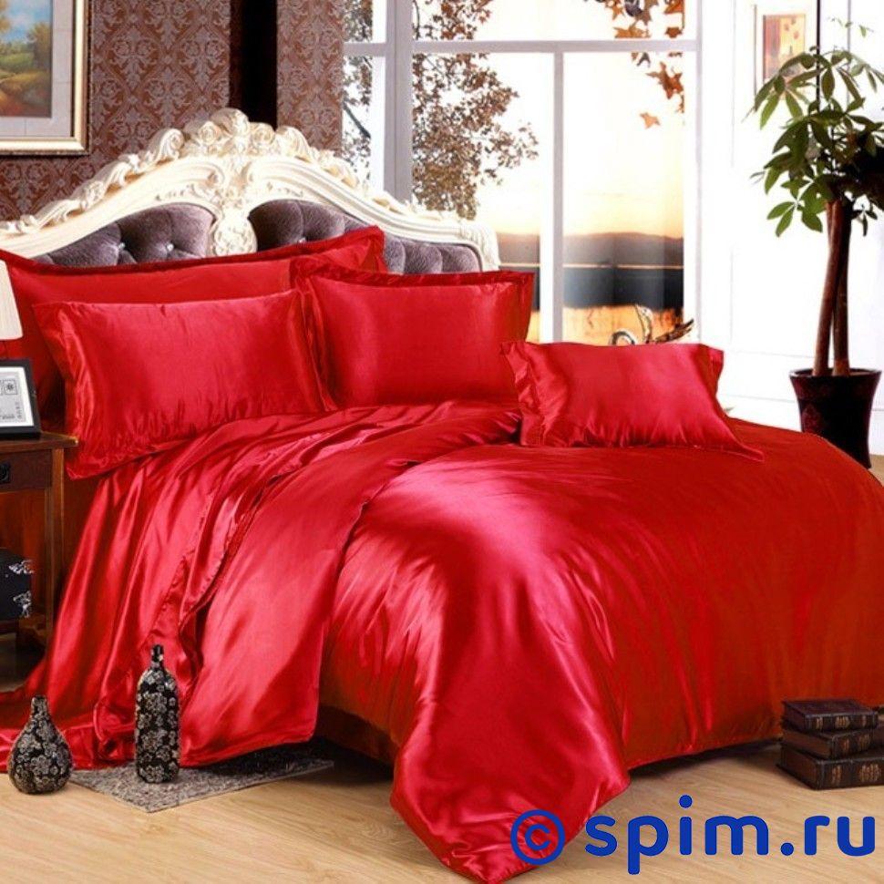 Постельное белье Luxe Dream Красный Евро-стандарт