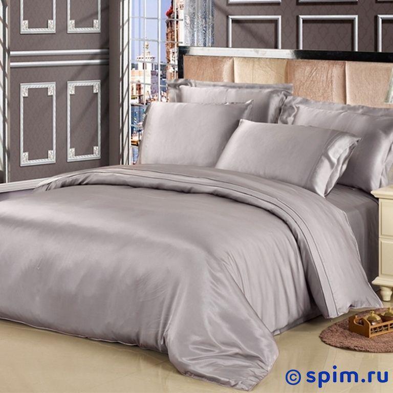 Постельное белье Luxe Dream Серебро Евро-стандарт