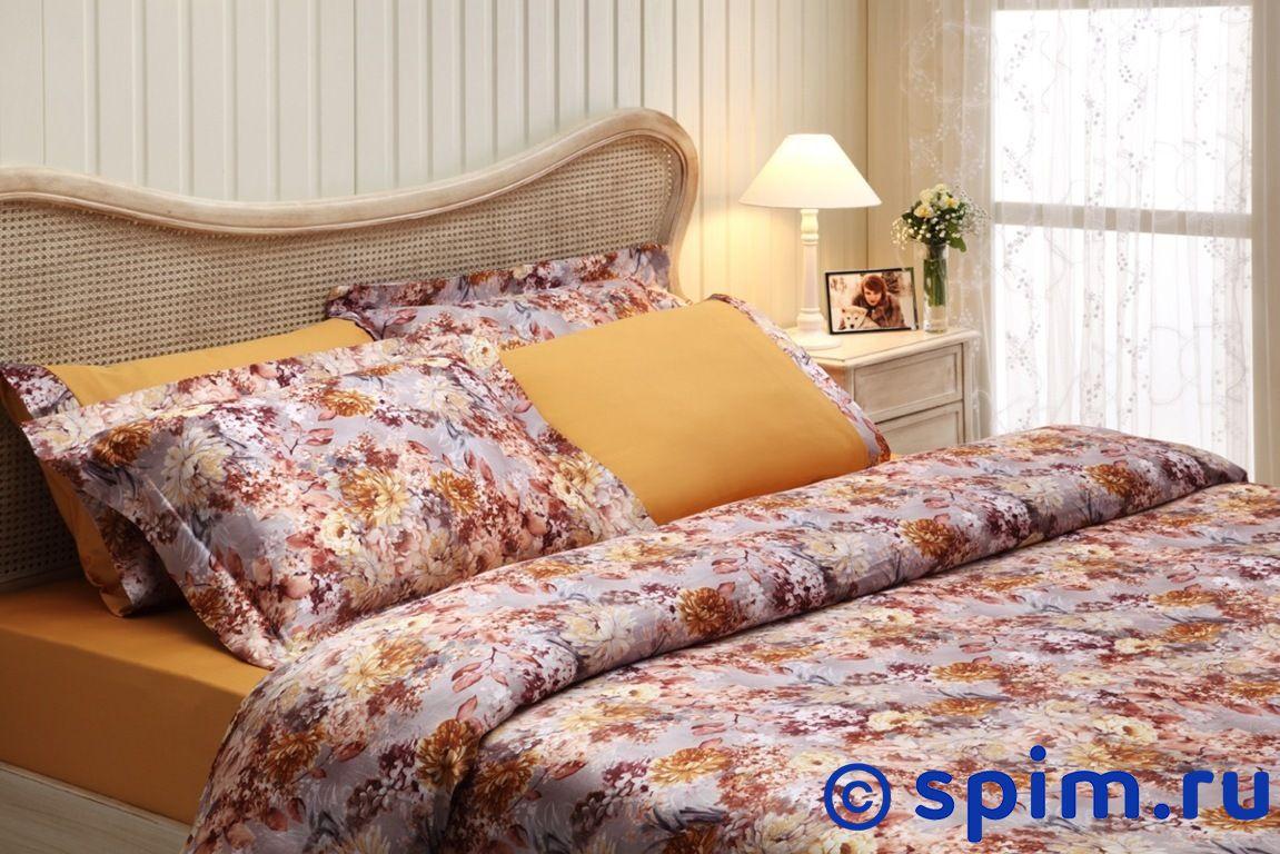 Шелковое постельное белье Tivolyo Florido euro-standart шелковое постельное белье tivolyo victoria euro standart