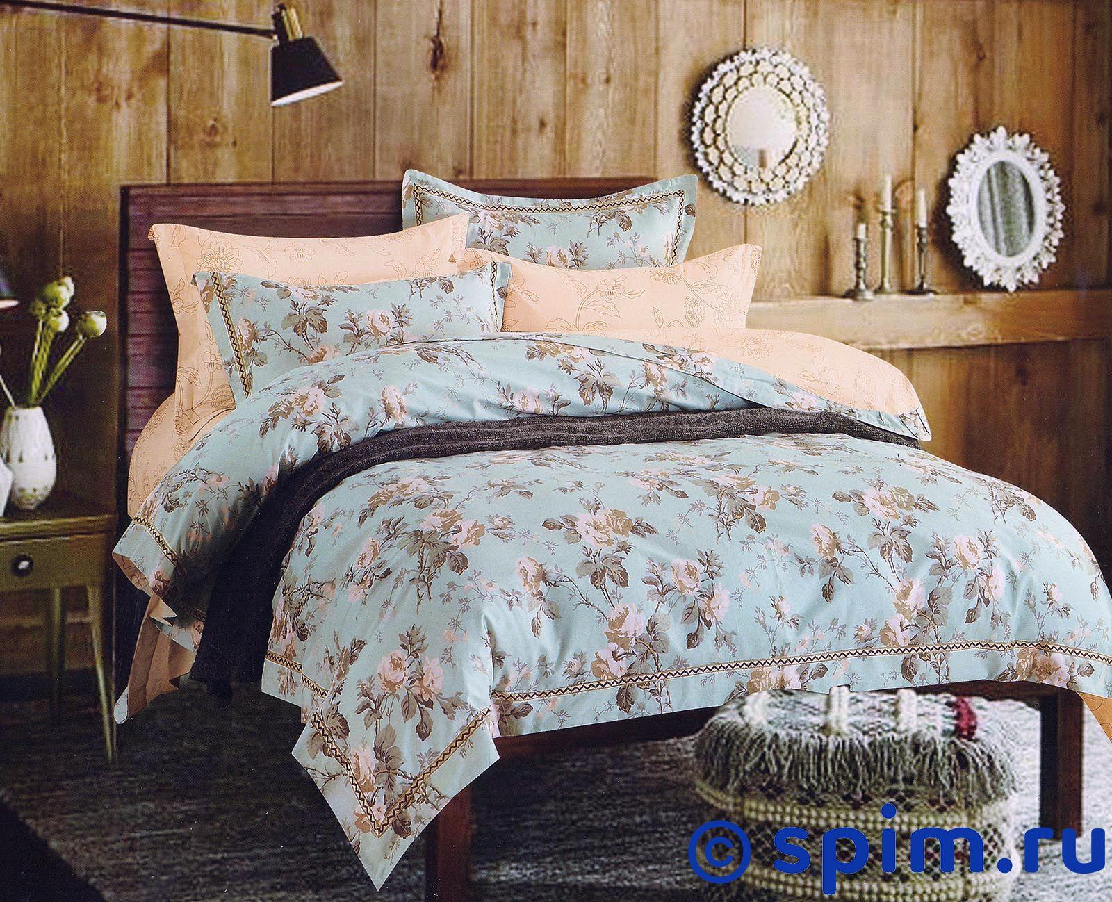 Постельное белье Sofi De Marko Лакоста, персиковый Евро-стандарт постельное белье sofi de marko патриция пудра евро стандарт