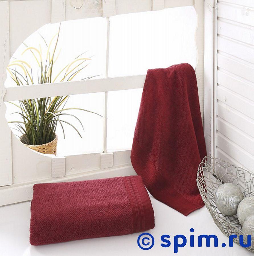 Полотенце Sofi De Marko Venar 70х140 см, бордовое бордовое 100х180 полотенца махровое 1 шт ituma