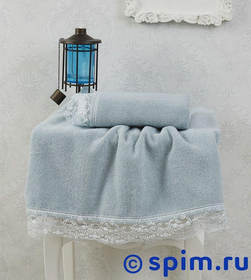 Набор из 2-х полотенец Sofi De Marko Estina, нефть полотенца банные sofi de marko полотенце sirena v2 30х50 1х2 салф махровая