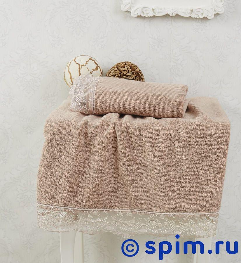 Набор из 2-х полотенец Sofi De Marko Estina, коричневый полотенца банные sofi de marko полотенце sirena v2 30х50 1х2 салф махровая