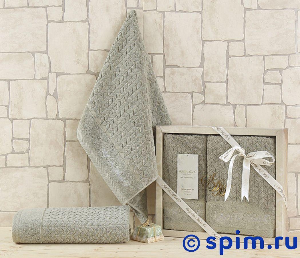 Набор из 2-х полотенец Sofi De Marko Ebru, ментол полотенца банные sofi de marko полотенце sirena v2 30х50 1х2 салф махровая