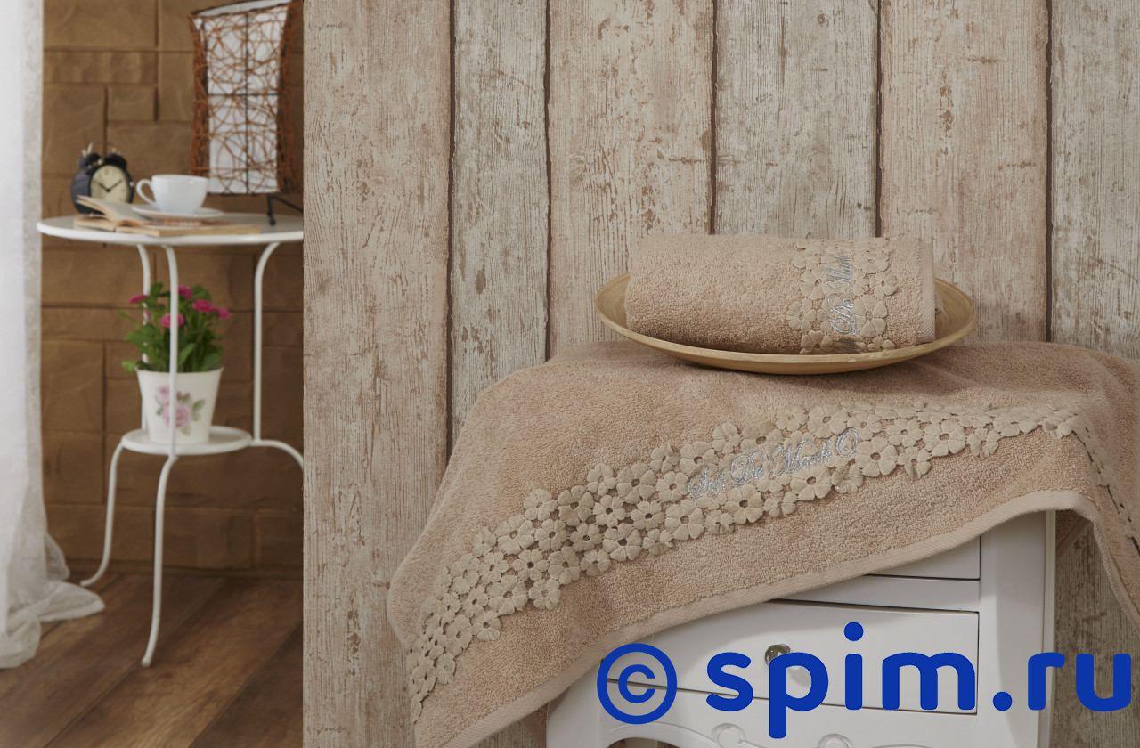 Набор из 2-х полотенец Sofi De Marko Masotis, бежевый полотенце детское арти м набор из 2 полотенец для ванной 820 0