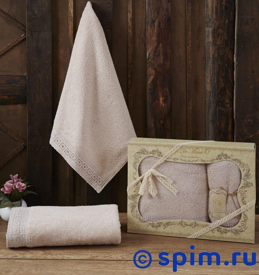 Набор из 2-х полотенец Sofi De Marko Katia, пудра полотенце детское арти м набор из 2 полотенец для ванной 820 0