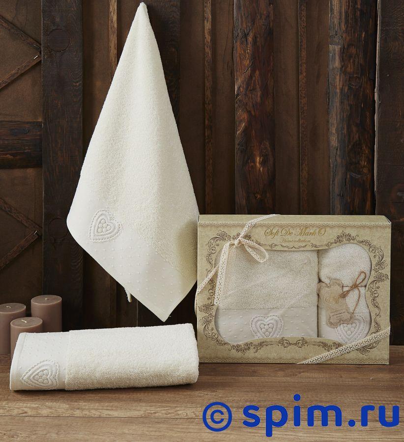 Набор из 2-х полотенец Sofi De Marko Amanda, кремовый полотенце детское арти м набор из 2 полотенец для ванной 820 0