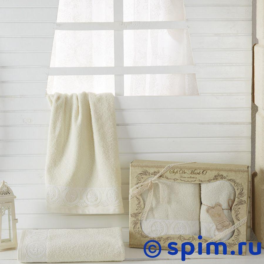 Набор из 2-х полотенец Sofi De Marko Donna, кремовый полотенце детское арти м набор из 2 полотенец для ванной 820 0
