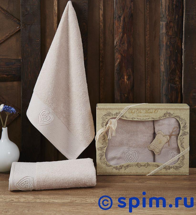 Набор из 2-х полотенец Sofi De Marko Amanda, пудра набор из 2 х полотенец sofi de marko nueva стоне