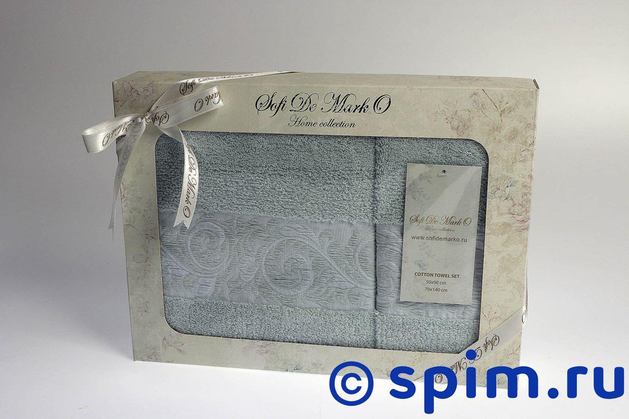 Набор из 2-х полотенец Sofi De Marko Maria, ментол полотенце детское арти м набор из 2 полотенец для ванной 820 0