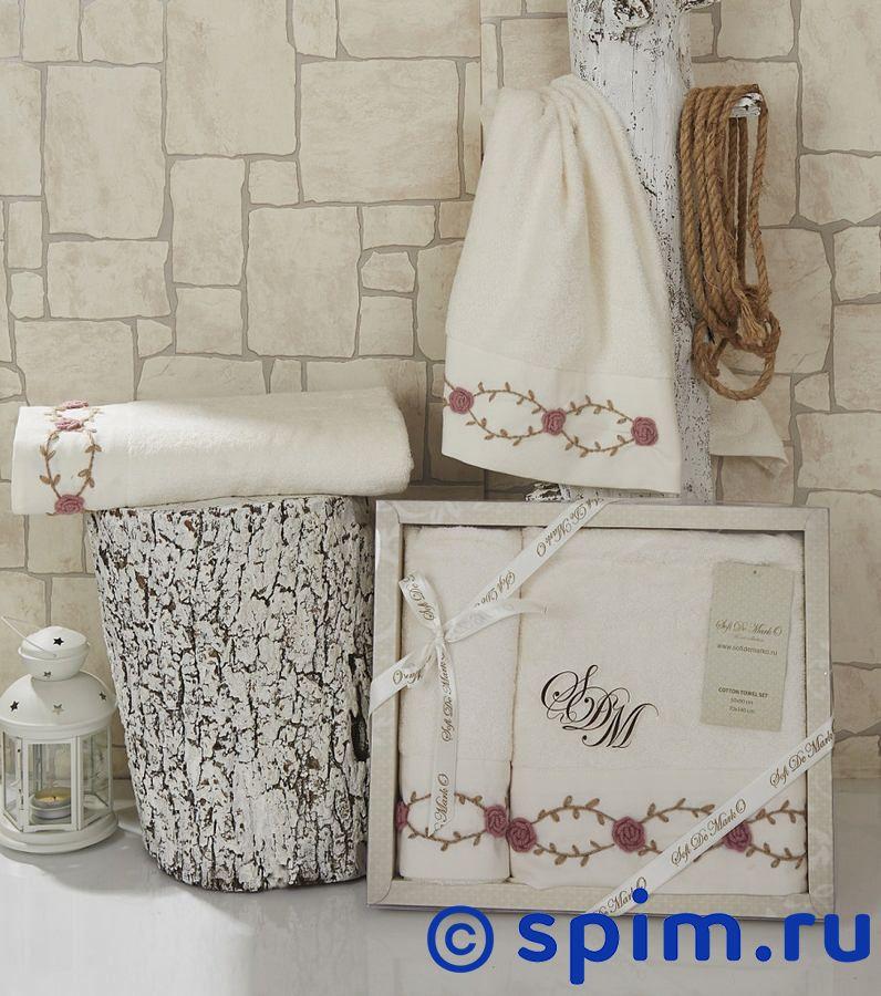 Набор из 2-х полотенец Sofi De Marko Veron, кремовый полотенце детское арти м набор из 2 полотенец для ванной 820 0