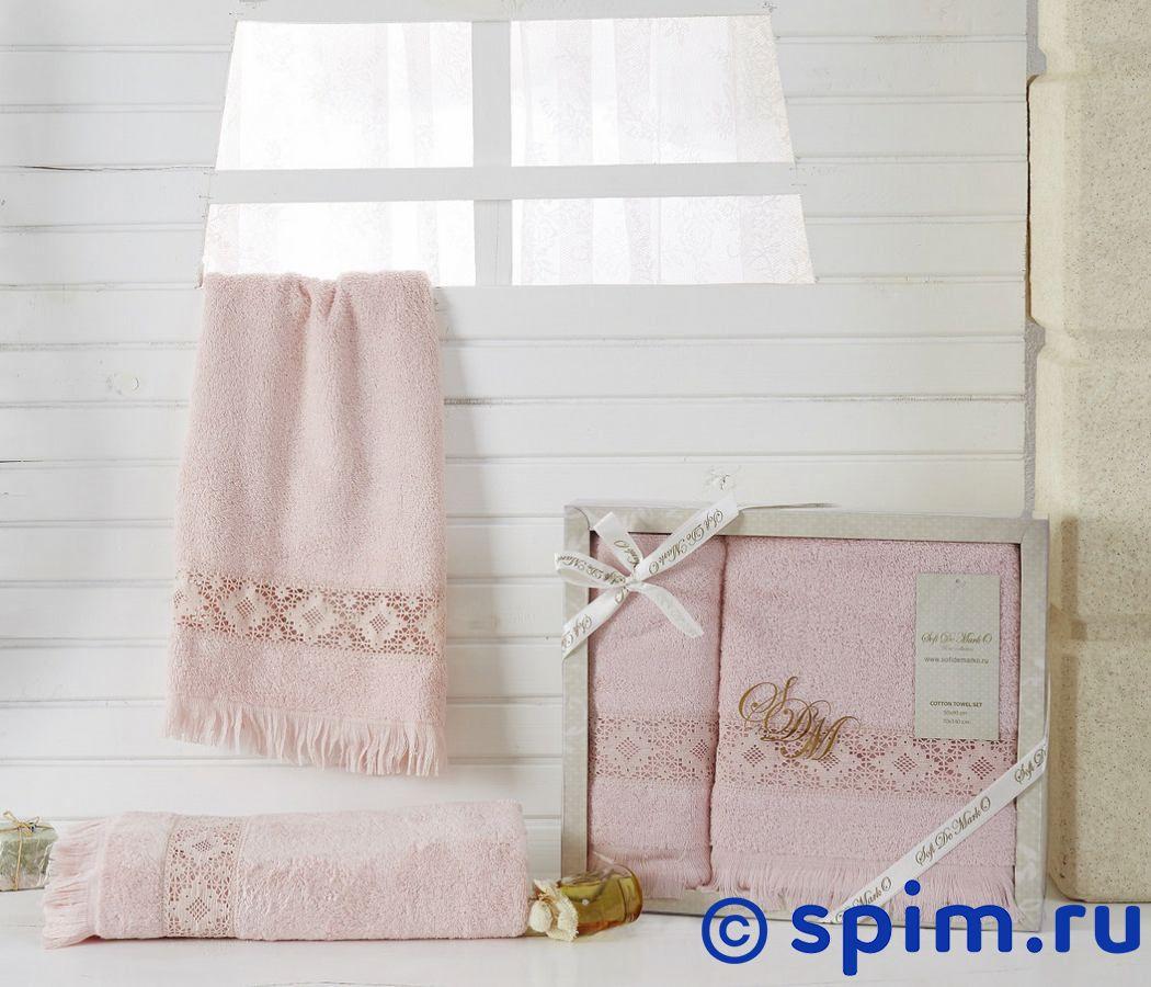 Набор из 2-х полотенец Sofi De Marko Country, пудра полотенце детское арти м набор из 2 полотенец для ванной 820 0