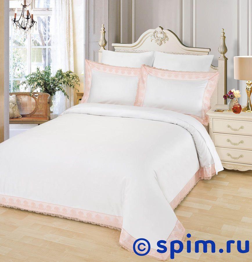Постельное белье Sofi De Marko Жозефина, пудра Евро-стандарт постельное белье sofi de marko патриция пудра евро стандарт