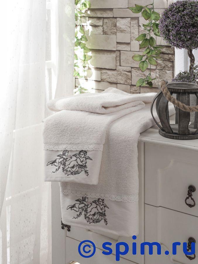 Набор из 2-х полотенец Sofi De Marko Angelina, кремовый полотенце детское арти м набор из 2 полотенец для ванной 820 0